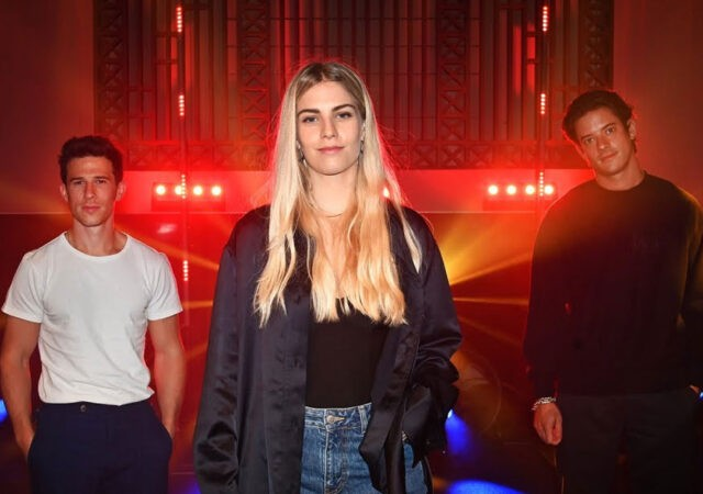 London Grammar no Live Lounge