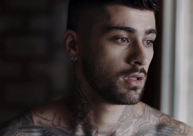 "Zayn no clipe de ""Better"""
