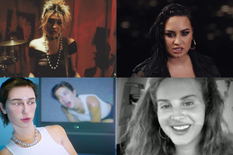Novos clipes: beabadoobee, Demi Lovato, King Princess e Lana Del Rey