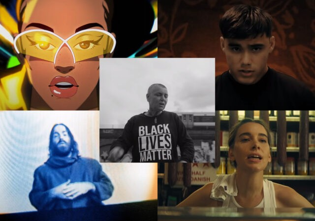 Clipes: Chet Faker, HAIM, Jorja Smith, Now United, Sinead O'Connor