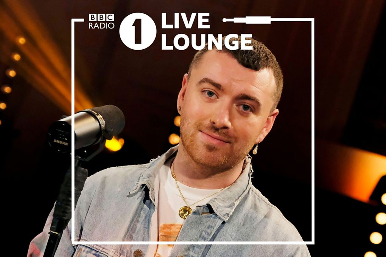 Sam Smith no Live Lounge, da BBC Radio 1