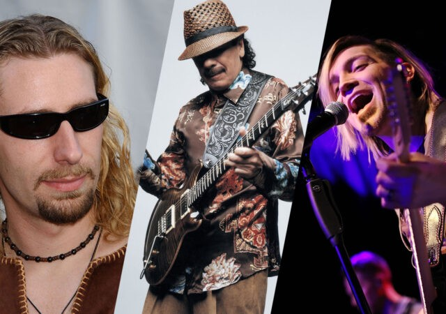 Chad Kroeger, Santana e Alex Band